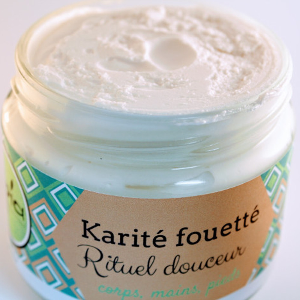 Baume léger naturel à l'huile de coco et beurre de Karité BIO